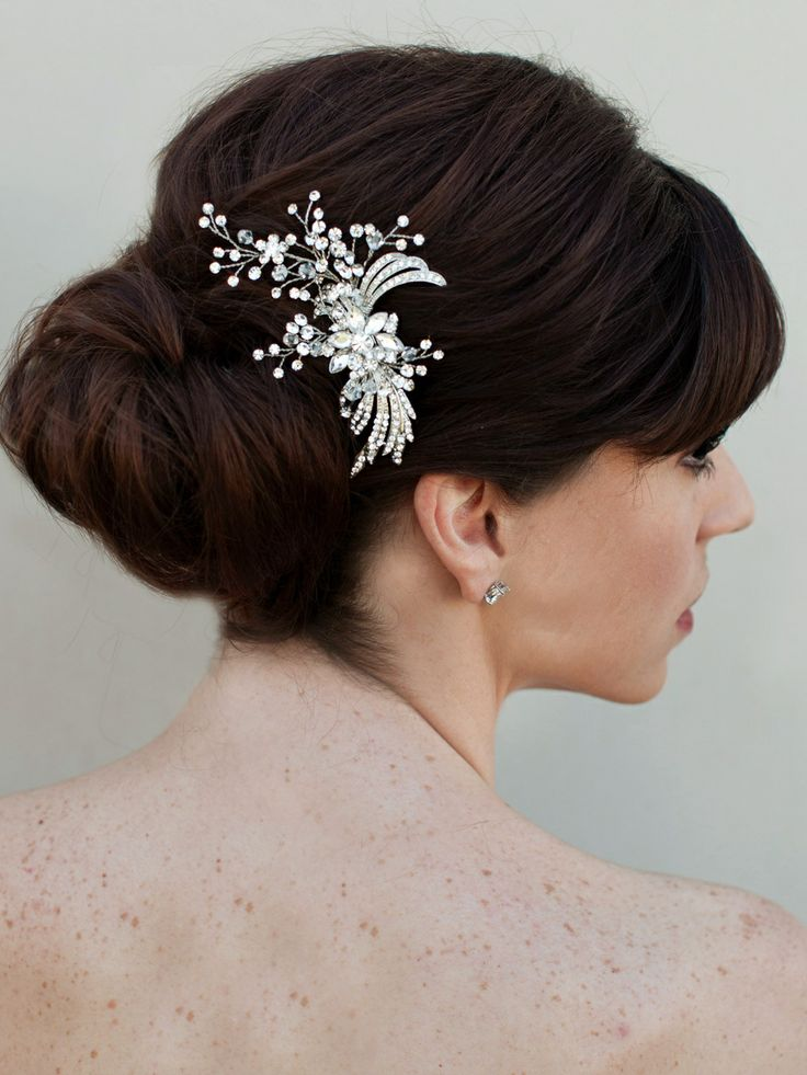 10 best bridal hair pieces images on pinterest headpiece for Blow out karlsruhe