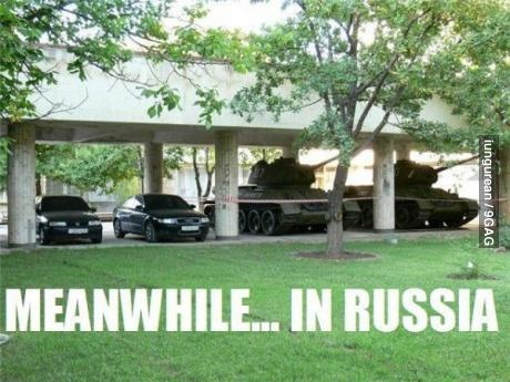 Meanwhile... In Russia