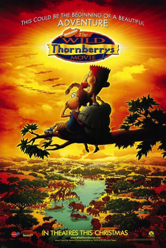 The Wild Thornberrys Movie... I cried when I saw it. Haha.