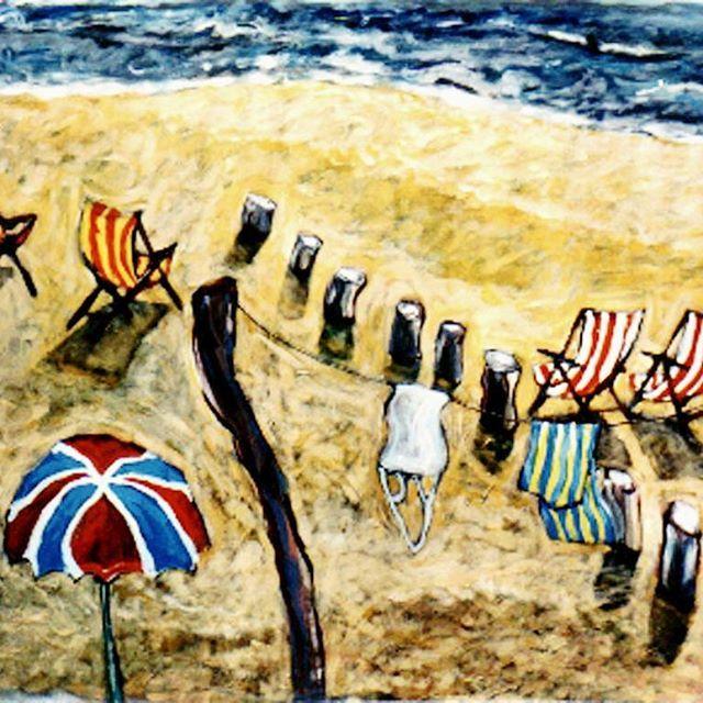 Beach activities II Acryl paper.  Arturo Mranda #painter #art #artworks #beach #beauty #artcollective #artgallery #artistic #artworks #paisaje #beachlandscape #figurativeart #nature #newartwork #artshow #artlovers #artcollective #artgallery #enviromental #oceans #lovetheocean #paiting #mediterraneosea #mediterranean #ibizaart #newartwork #artshows #contemporaryart #instaartistic #ig_masterpiece #ibiza #artlovers #instaartist