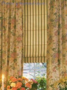 Tipos de cortinas, tipos de visillos, tipos de estores, Aprende a confeccionar cortinas visillos y estores de forma fácil y sencilla, estores romanos