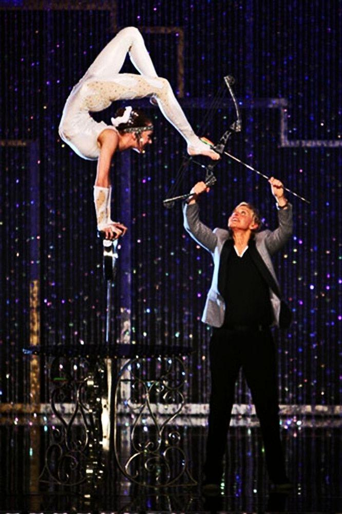 Circus Perfomers and Acrobats-Contortionist at Ellen Degeneres Show