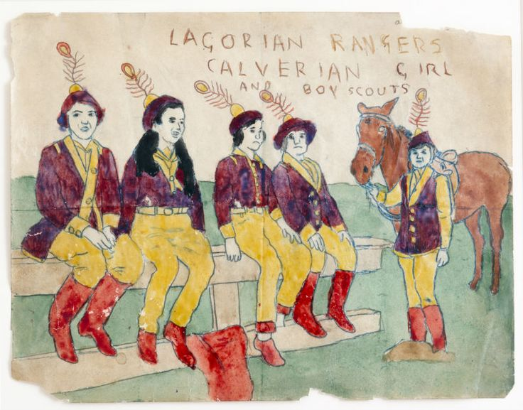 The Story of the Vivian Girls | Henry Darger | Ideafixa