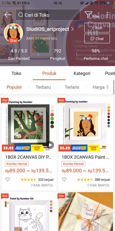 Pin Oleh Thariess Fabrika Di Barang Untuk Dibeli Produk Ide Hadiah Painting