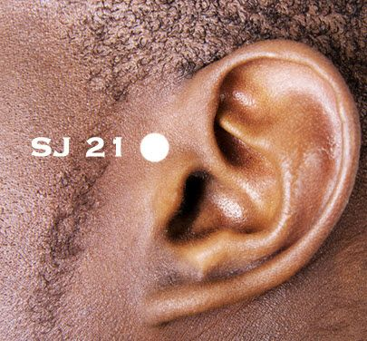 This is one of the most powerful #acupressure points for ear #pain that is widely used in treating #hearing issues as well.