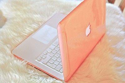 Wish I had.Pink Summer, Macbook Air, Macbook Cases, Macbookpro, Apples Computers, Laptops Cases, Pink Fashion, Georgia Peaches, Macbook Pro