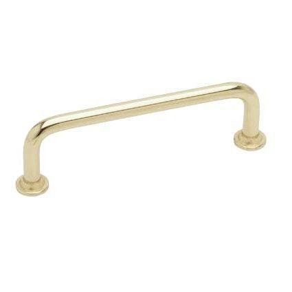 Cabinet Handle / Drawer Pull 1353-128 - Polished Uncoated Brass - Beslag Design