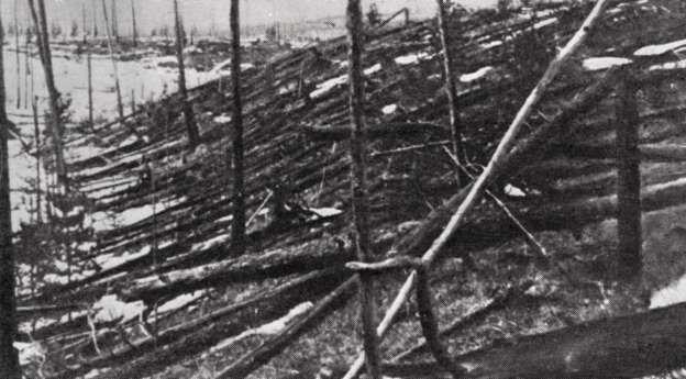 Infierno de fuego sobre Tunguska. - Copyright © 2015 Hearst Magazines, S.L.