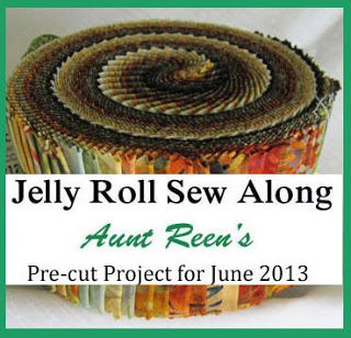 Aunt Reen's Place: Announcing June's Jelly Roll Sew Along