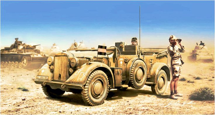 Kfz.15 Fünkwagen, 21st Panzer Division del Afrika Korps. http://www.elgrancapitan.org/foro/viewtopic.php?f=12&t=17519&p=886719#p886719