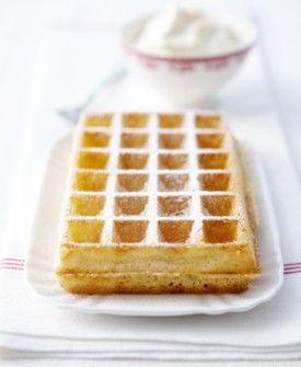 Brusselse wafel - Recepten - Culinair - KnackWeekend.be