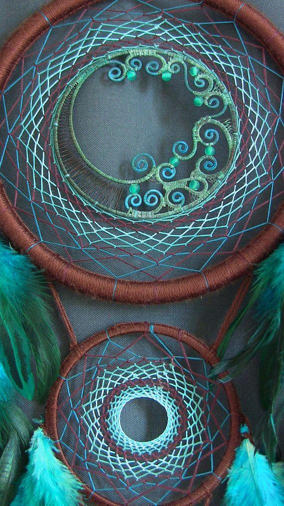 Atrapasueños Dreamcatcher Dreamcatcher azul Boho estilo boho