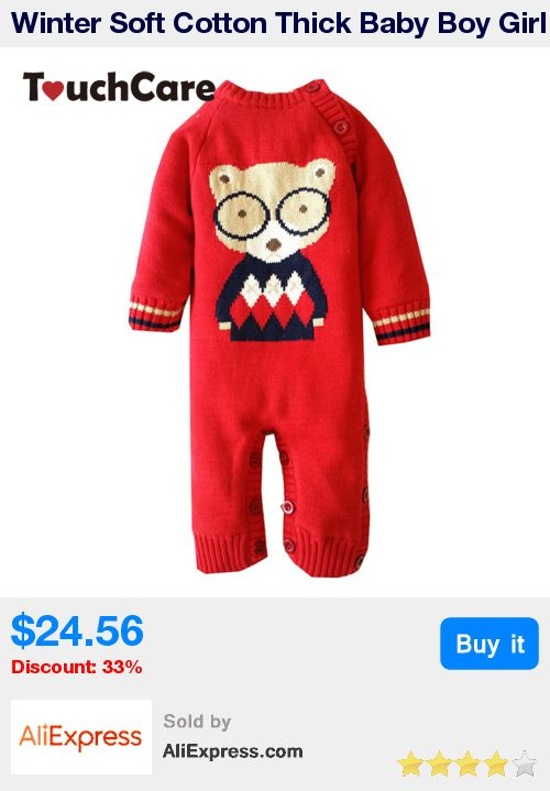 Winter Soft Cotton Thick Baby Boy Girl Rompers Newborn Long Sleeve Cute Cartoon Bear Fleece Bebes Costume Warm Toddler Jumpsuit * Pub Date: 06:03 Apr 6 2017