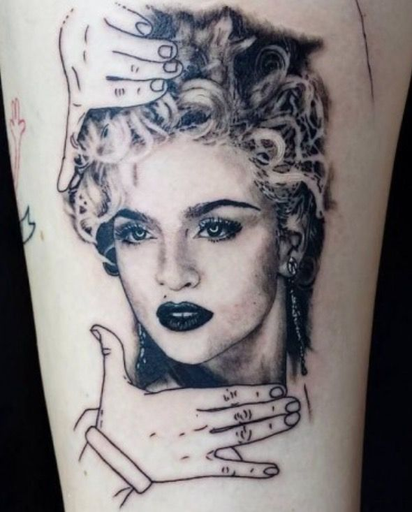 285 best love madonna images on pinterest madonna tattoo for Valentines tattoo seattle