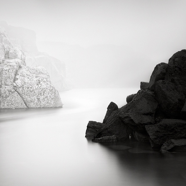 Frozen breathtaking black white photography by maria strömvik part 2
