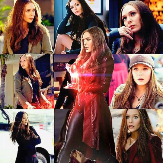 Wanda Maximoff, the Scarlet Witch