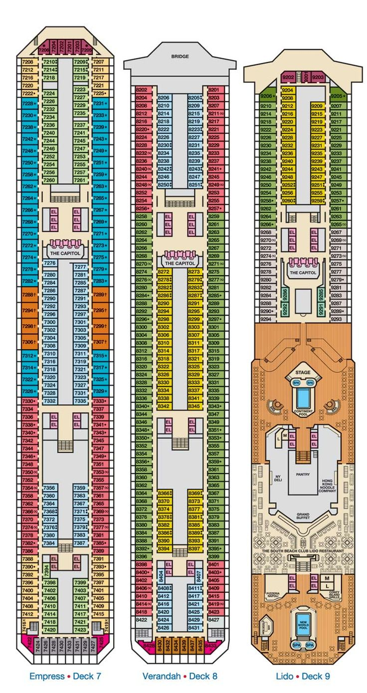 Carnival Ship Victory Deck Plan Pictures to Pin on ...