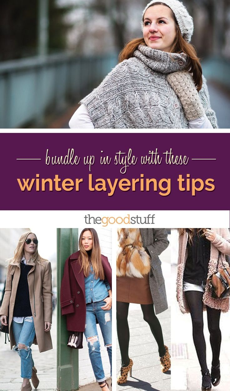 Bundle Up In Style With These Winter Layering Tips