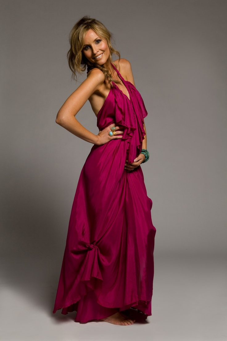 Lisa Brown silk dresses. My favorite!!