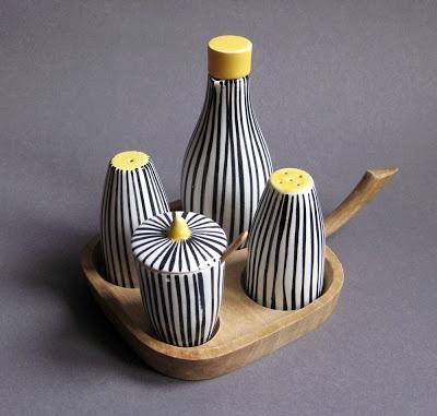 cerâmica modernista em portugal: Saleiros e Pimenteiros - SECLA