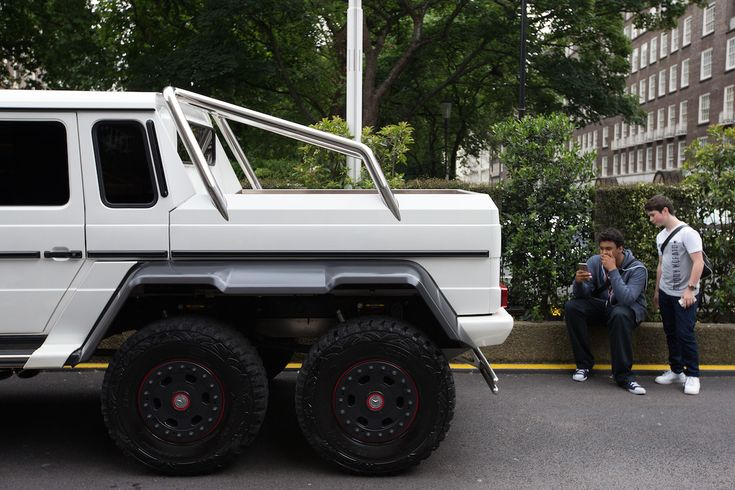 Szaúdi Mercedes G63 AMG 6x6. Fotó: Carl Court/Getty Images