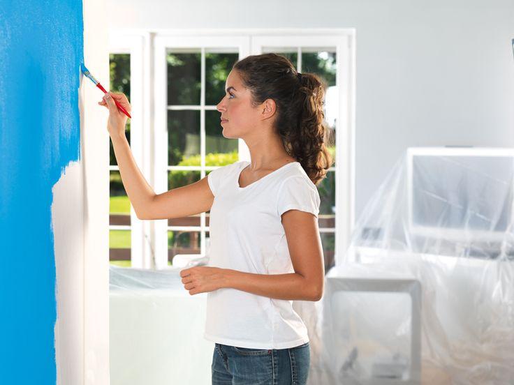 Ideal Saubere Farbkanten Wir zeigen dir wie du richtig abklebst und dir beim Streichen keine Farbe mehr unter das Malerband l uft