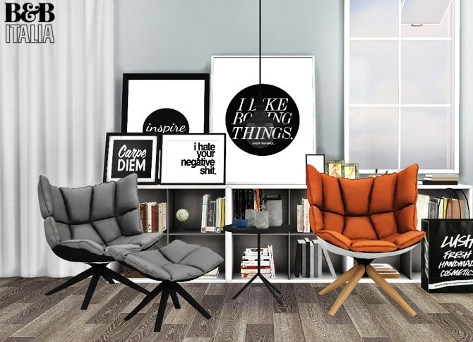 HUSK Chairs at MXIMS  Sims 4 Updates  The Sims 4  The