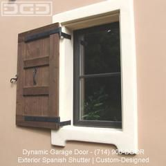 Spanish Style Wooden Gates | ... by Dynamic Garage Door Repair | Custom Wood Garage Doors Anaheim 92801