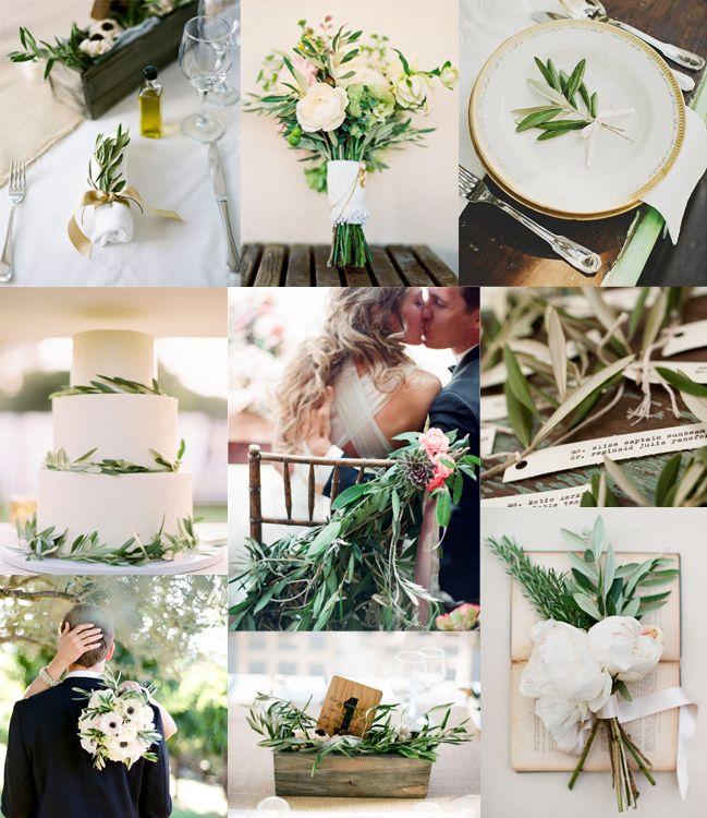 Olive Detail WeddingInspiration