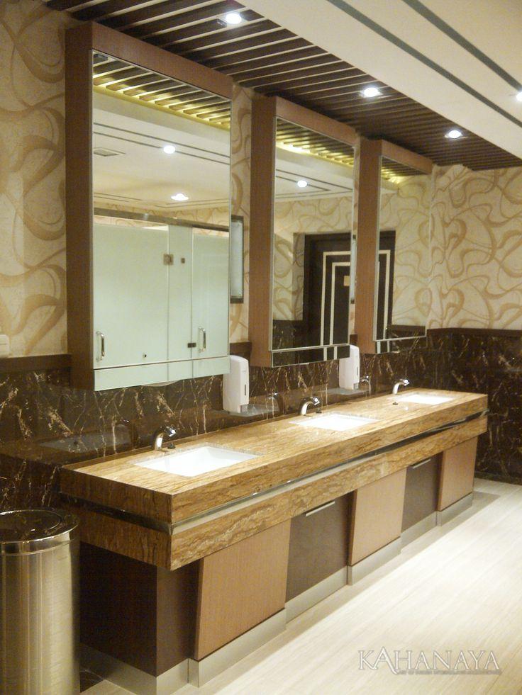 Toilet Teracota Restaurant at Somerset Hotel Surabaya Indonesia 2012