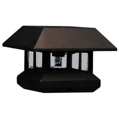 veranda solar light post cap va0000sl00 home depot canada beth