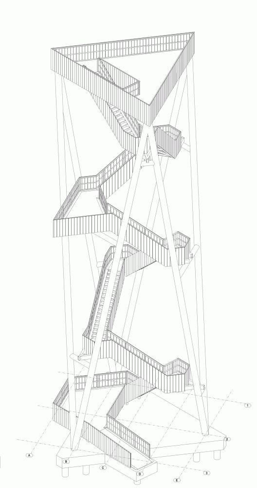 Viewing Tower Lommel / Ateliereen Architecten