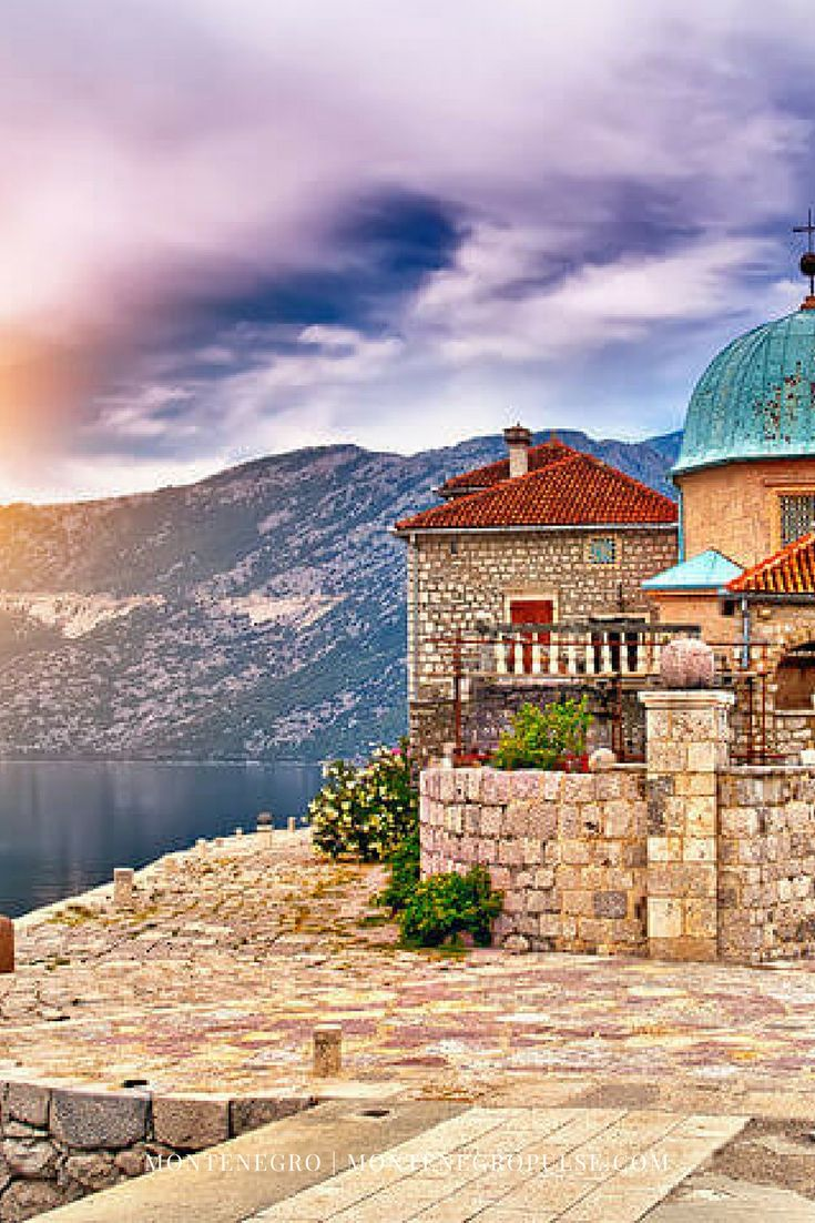Our Lady of the Rocks is one of the most popular sights in the Bay of Kotor, Montenegro. The only way to get to this church island is by boat.