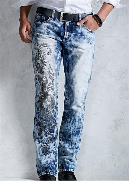 Стильные мужские джинсы в москве