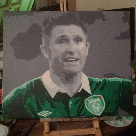 Robbie keane painting