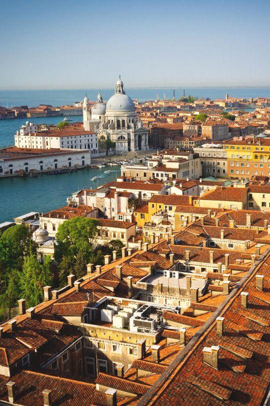 "wanderlusteurope: "" Rooftops of Venice, Italy """