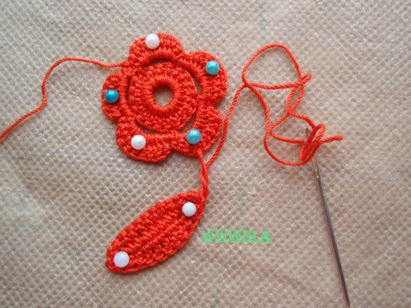 how to join crochet pinwheels side to side