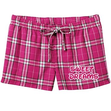 Sweet Dreams (Pink) SarahBe Designs #customizedgirl #pink #sweetdreams #pajama #shorts