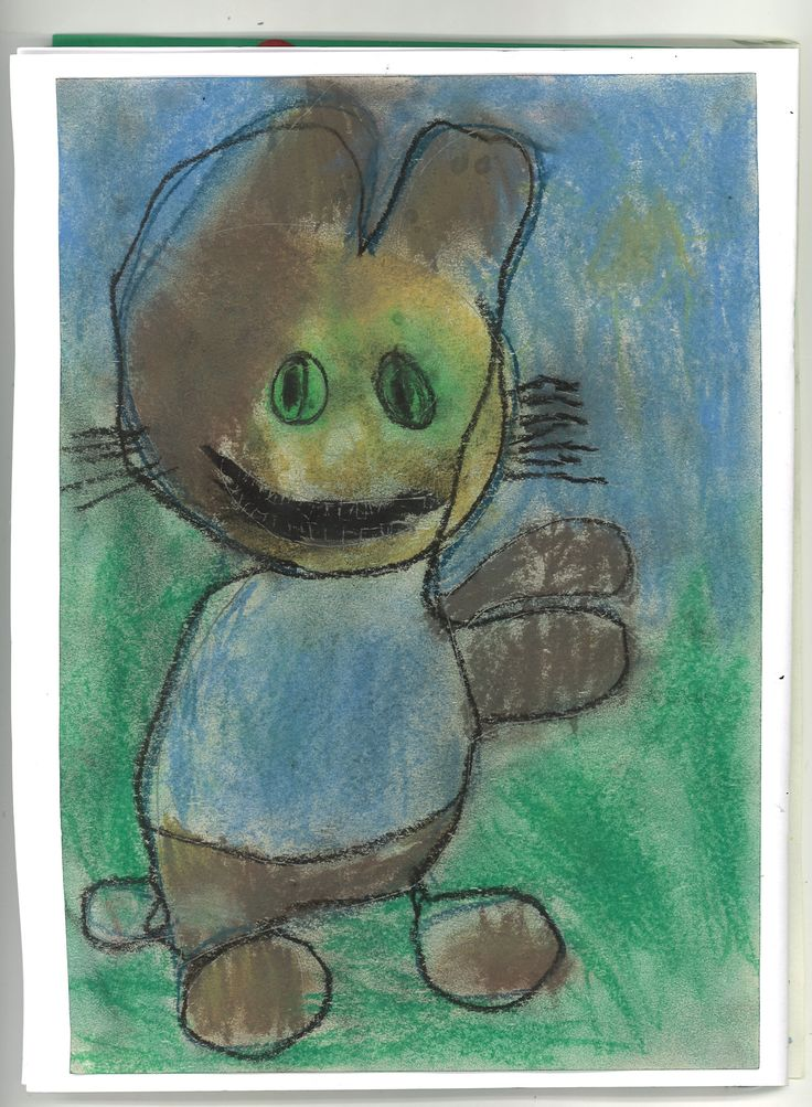 Peter Rabbit in pastels by Sebastian