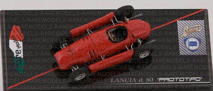 Lancia D.50 test Monza '54. Ascari