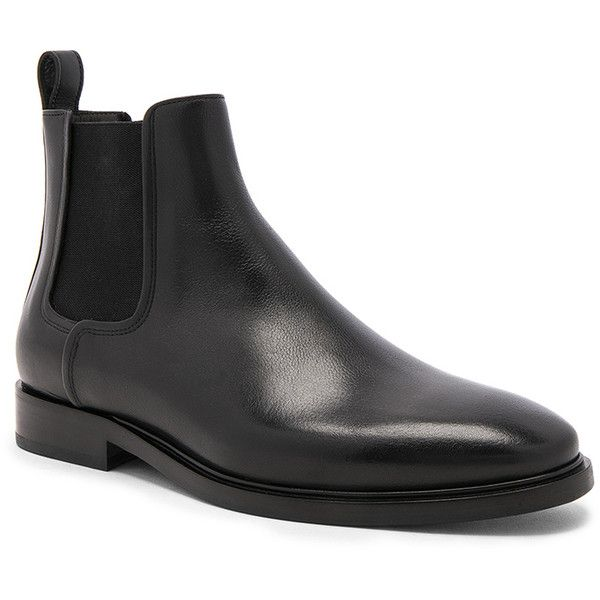 Lanvin Leather Chelsea Boots (€695) ❤ liked on Polyvore featuring men's fashion, men's shoes, men's boots, boots, mens leather boots, lanvin men's shoes, lanvin mens boots, mens leather chelsea boots and mens leather shoes