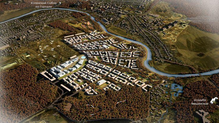 Комплексное развитие территории в г. Звенигороде. Генеральный план, 2014 ©…
