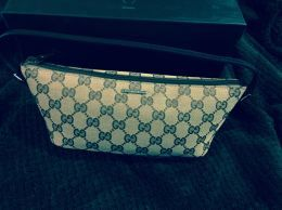 Available @ TrendTrunk.com Gucci cosmetic bag/small purse Bags. By Gucci cosmetic bag/small purse. Only $141.88!