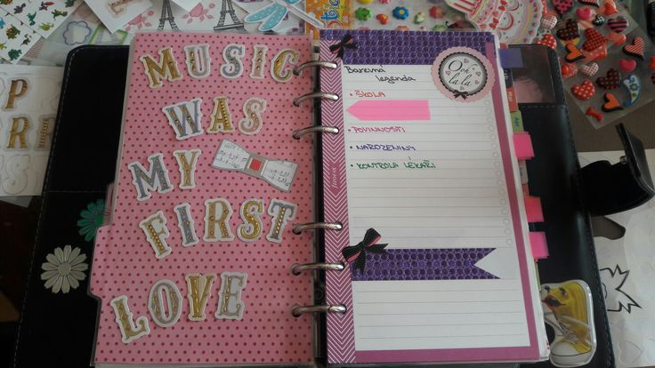 #filofax #diy #organiser #planner #filofaxing #oohlala #purple #pink #colorlegend my filofax organiser