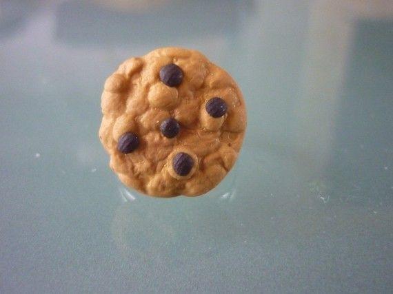 bague petit cookie, bijou gourmand