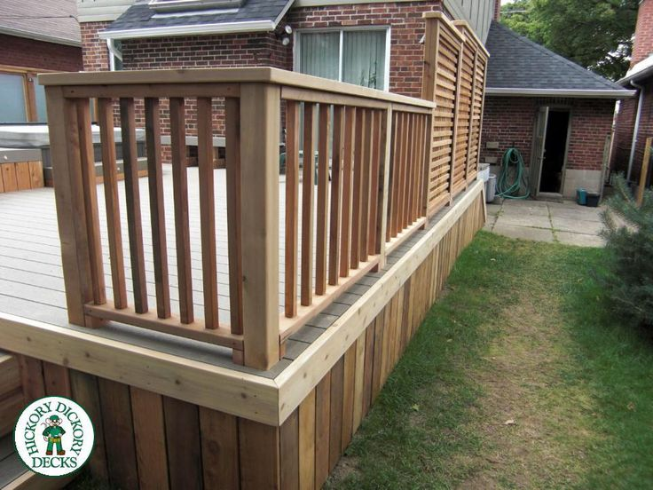 Plan and design of a small garden, backyard with decking ...
