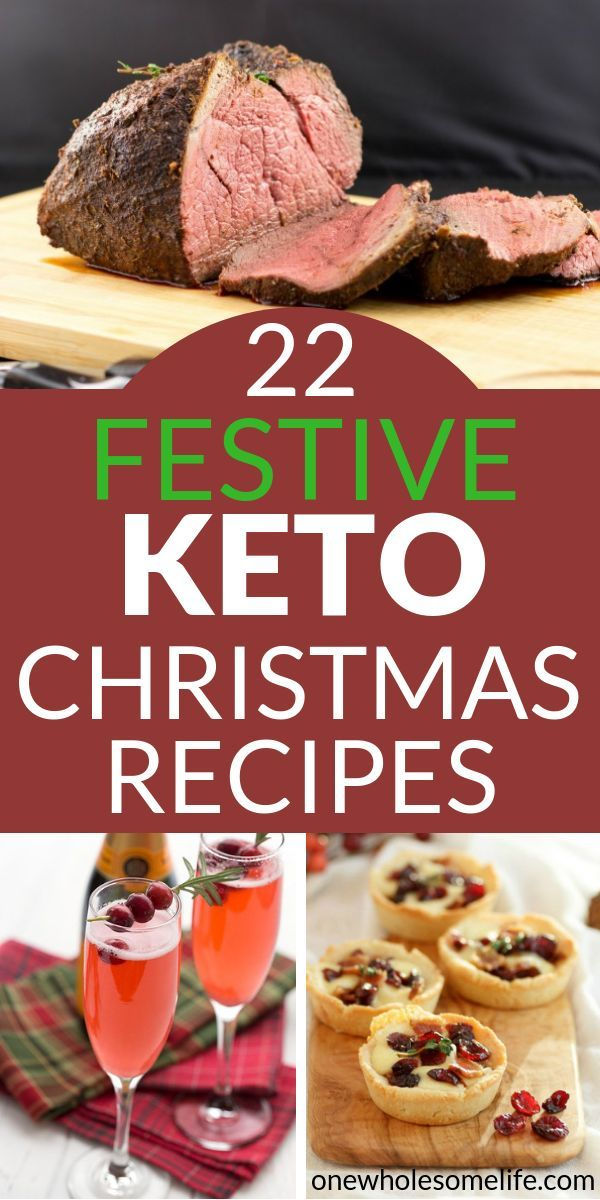 22 Recipes For A Very Keto Christmas Ketogenic Dinner / Sides