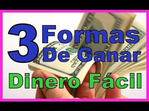 MEJORES FORMAS DE GANAR DINERO ONLINE FÁCIL Y RÁPIDO 3 Formas de #ganar #dinero por #internet #negocios #rentables con #trabajos desde #casa en #internet #obtener #dolares reales #online.