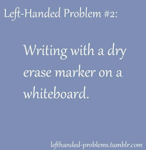 Impossible, you have to float your hand and then your writing is terrible!