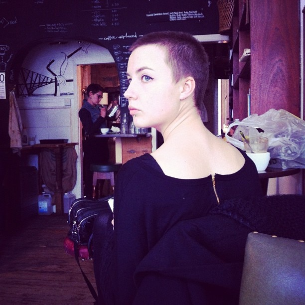 Feminine Buzz Cut Very Short Hair Pinterest Feminine